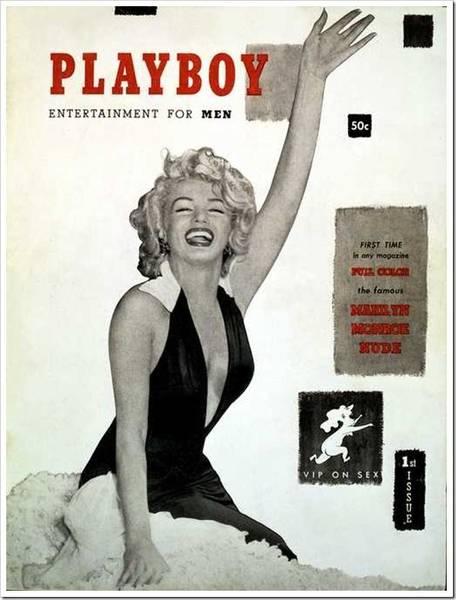El primer número de Playboy escondía en sus páginas fotografías de Marylin Monroe desnuda. Arrasó.