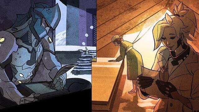 Mercy y Genji son pareja en Overwatch según unas líneas de diálogo ocultas