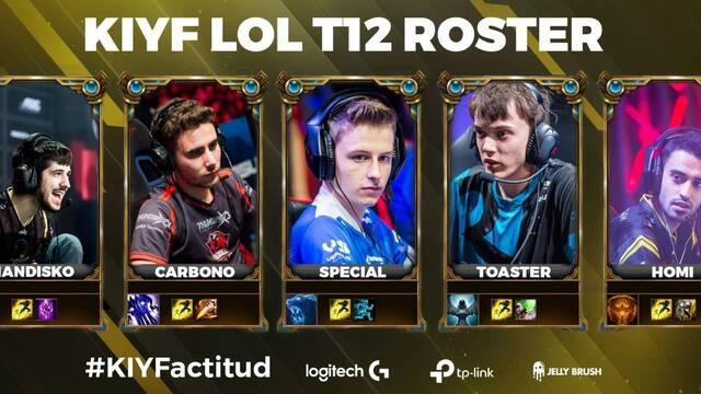 Este será el roster de KIYF Logitech para la Superliga Orange de League of Legends