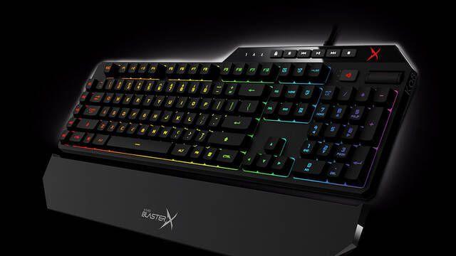 Vanguard K08 es el último teclado mecánico gaming de Creative