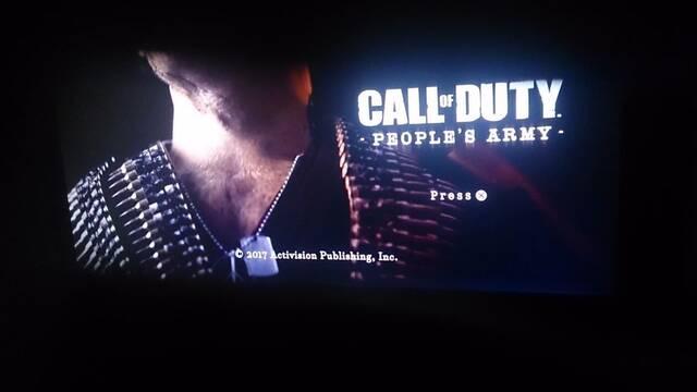 ¿Verdadero o falso? Se filtra un vídeo de Call of Duty People's Army, el Call of Duty del 2017