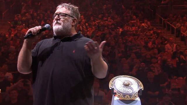 Gabe Newell, padre de Valve, prefiere jugar DOTA 2 que a CS:GO