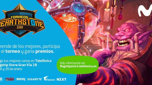 Madrid Hearthstone Weekend, un nuevo torneo de la mano de Torneos Hearthstone y Movistar