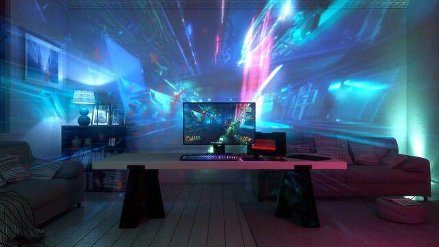 Project Ariana, el nuevo sistema de proyección de videojuegos de Razer