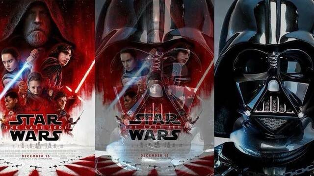 El póster de Star Wars Episodio VIII oculta una referencia a Darth Vader