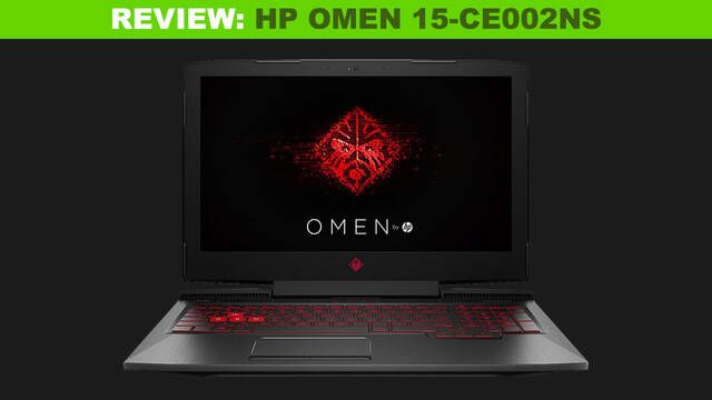 Análisis HP Omen 15-CE002NS