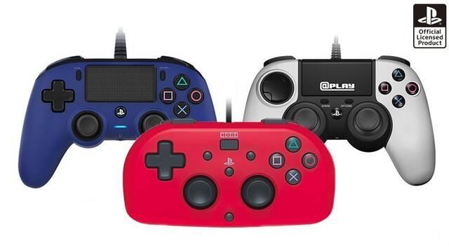 Así son los 3 nuevos mandos licenciados para PS4