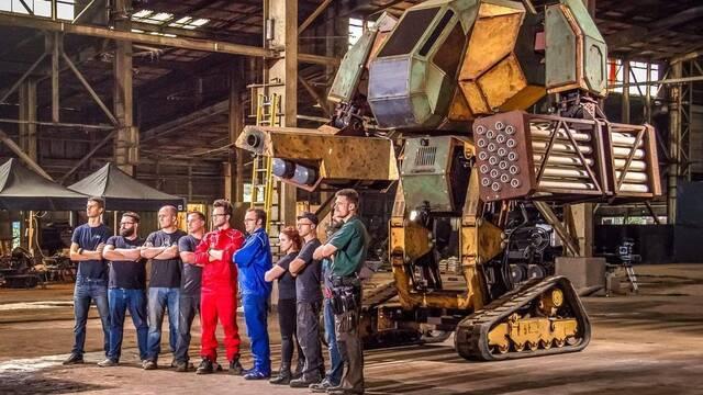 Estados Unidos reta a Japón en un duelo de robots gigantes