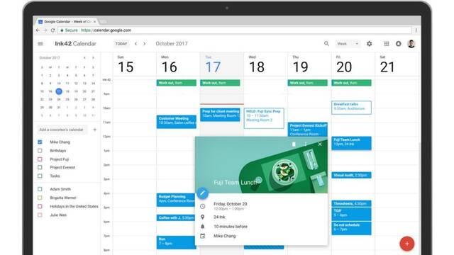 Google Calendar estrena diseño Material Design en su versión web