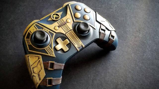 Así es el mando de Skyrim para Xbox One creado por un fan