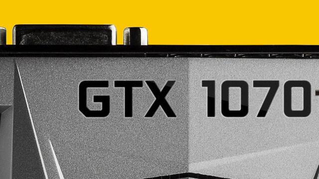 Primeras imágenes y benchmark de la NVIDIA GeForce GTX 1070 Ti