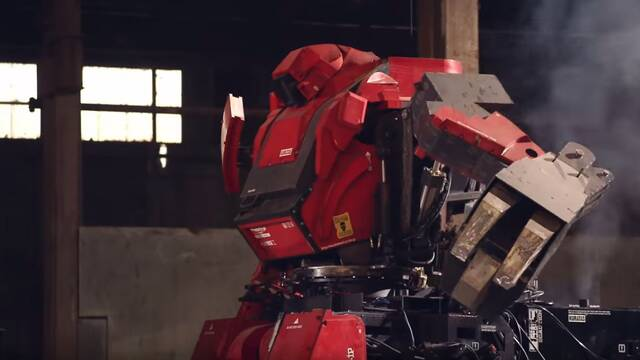 Los organizadores de la lucha de robots gigantes quieren preparar su propia liga