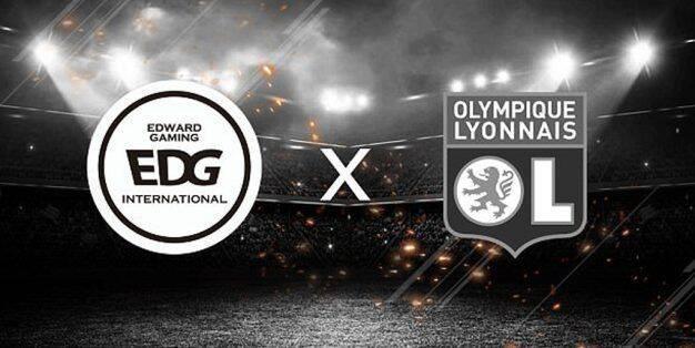 El club chino Edward Gaming se alía con el Olympique de Lyon