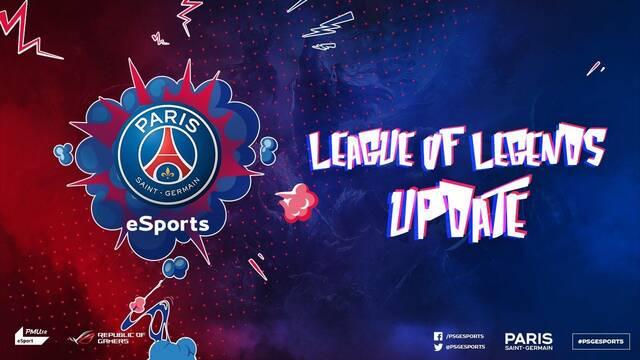 El PSG dice adiós a su equipo de League of Legends por el desconcierto de la escena en Europa