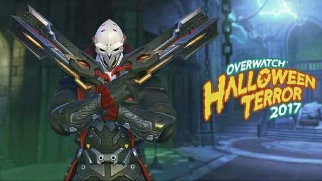 Filtradas 4 skins del evento Halloween Terrorífico 2017 de Overwatch