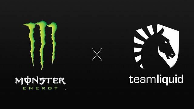 La bebida energética Monster patrocinará a Team Liquid