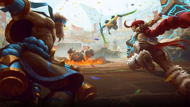 Juega gratis a Battlerite este fin de semana en Steam