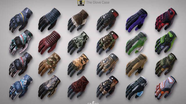 Las skins de guantes y las salas para grupos llegan a CS:GO