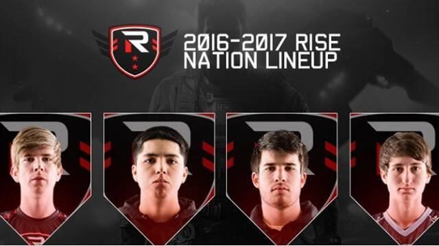 Rise Nation ficha a tres jugadores del equipo de Call of Duty de Elevate
