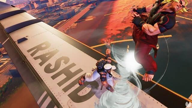 Así es el nuevo escenario para Street Fighter V, Skies of Honor