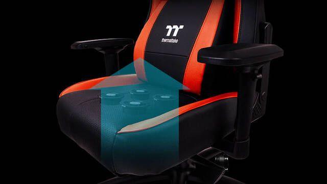 Thermaltake anuncia un sillón gamer con 4 ventiladores para refrescar nuestro trasero