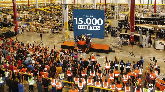 Amazon ofrecerá más de 15 000 ofertas durante el Black Friday