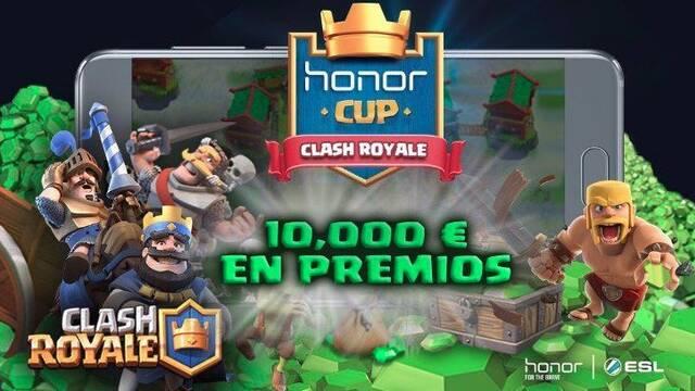 ESL y Honor de Huawei presentan la Honor Cup de Clash Royale