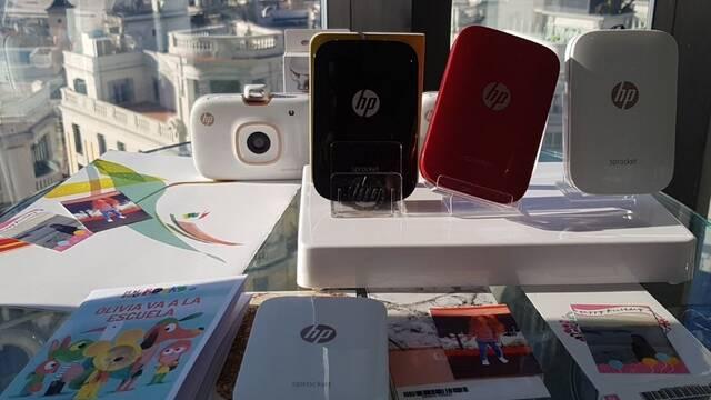 HP presenta su cámara de bolsillo, su impresora portátil y su impresora semiprofesional para el hogar