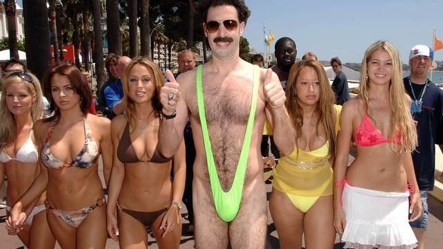 Arrestados por vestir el bañador de Borat en Kazajistán