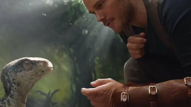 Una cría de velociraptor en el primer clip de Jurassic World: Fallen Kingdom