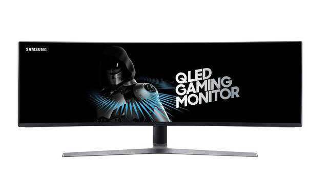 Samsung lanza el monitor panorámico curvo para gamers más grande del mundo