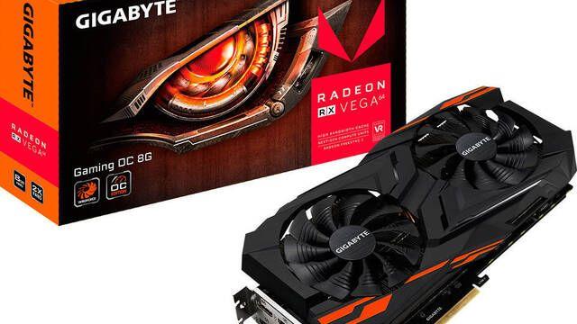 Gigabyte lanza su Radeon RX Vega 64 Gaming OC 8G
