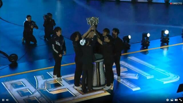 Samsung Galaxy es el campeón de los Worlds 2017