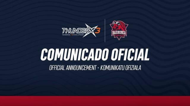 ThunderX3 Baskonia cambia media plantilla para el tramo final de la temporada