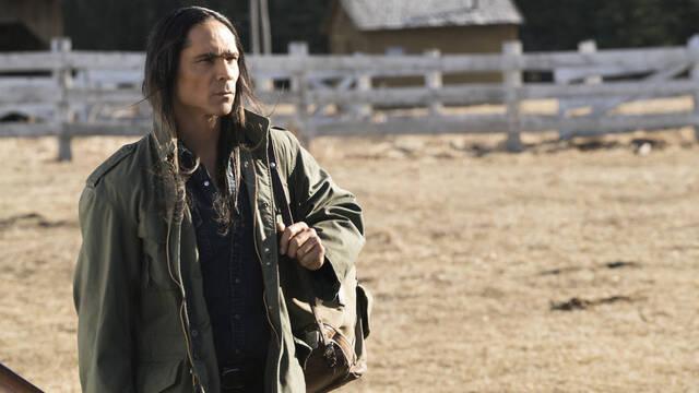 Zahn McClarnon, protagonista de la segunda temporada de Westworld, se encuentra mejor tras ser hospitalizado