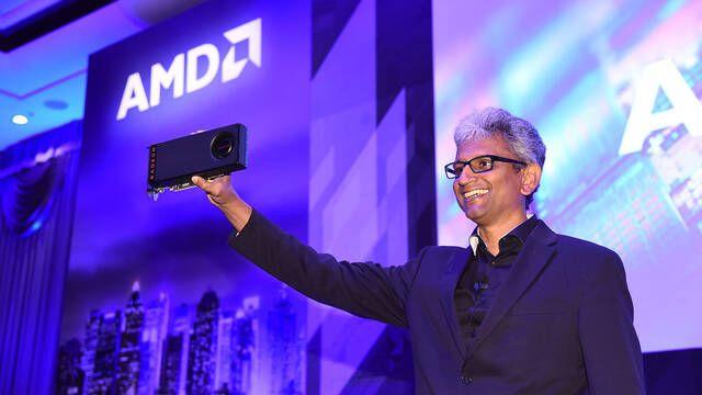 Raja Koduri, jefe de Radeon en AMD, abandona la compañía
