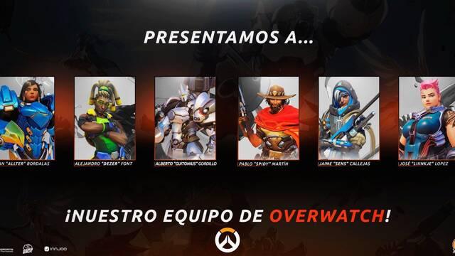 PAM eSports presenta a su equipo de Overwatch