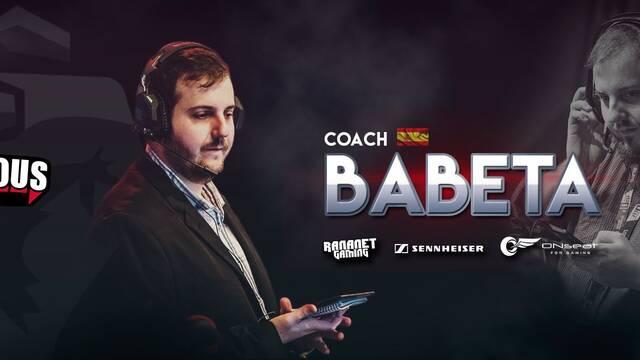 Babeta se irá a Latinoamérica para ser el entrenador de Infamous Gaming