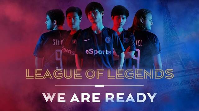 El PSG anuncia su equipo de League of Legends a través de un alucinante vídeo