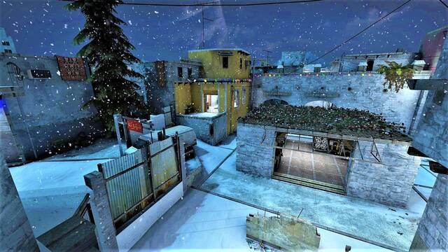 Los mapas navideños llegan a CS:GO gracias a un mod