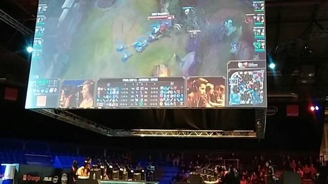 Pain Gaming y G2 Vodafone pasan a los cuartos de final de la Final Cup en Gamergy Orange Edition