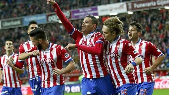 El Sporting de Gijón presenta a los jugadores de su equipo de FIFA 17 para la VFO en PS4
