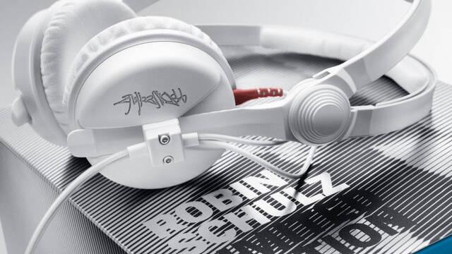 Sennheiser lanza una edición limitada de sus cascos HD 25: blancos y con la firma de Robin Schulz