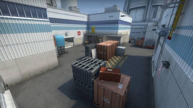 Así es De_Nache, la recreación del mapa Cache de CS:GO utilizando las texturas de Nuke