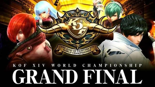 Sigue en directo el World Championship de The King of Fighters XIV