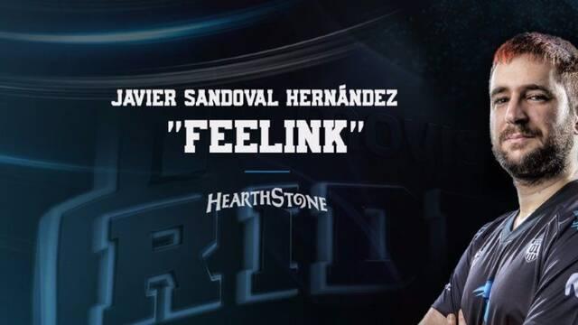 El español Feelink de los Movistar Riders, nominado para los Hearthstone Global Games