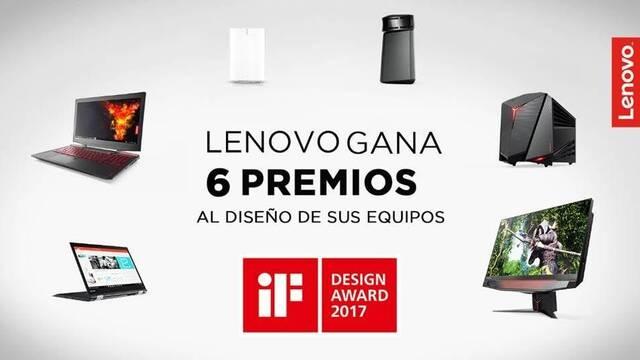 Lenovo consigue 6 premios al diseño en los iF Product Desing Awards