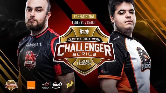 En directo: Semifinal del Clasificatorio Español a Challenger Series entre ThunderX3 Baskonia y The G-LAB Penguins