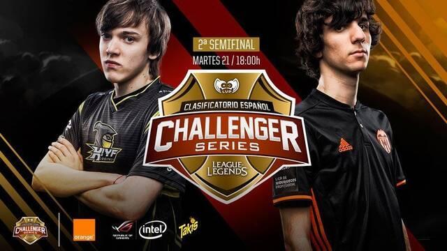 En directo: Segunda semifinal del Clasificatorio Español a Challenger Series entre KIYF y Valencia C.F. eSports