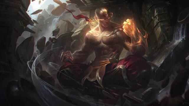 Así es Lee Sin Puño Divino, el nuevo aspecto para el luchador de League of Legends